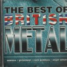 Various - Best of British Metal (CD 1999) Delta / 24HR POST