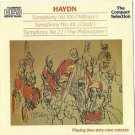 HAYDN - Military /Clock & Philosopher Syphmonies  CD 24HR POST