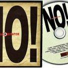 The Agitator - NO! -FULL PROMO- CD 15 Tracks / 24HR POST