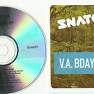 Snatch ! 013 - 'B'Day Bash EP -FULL PROMO- CD Riva Starr -Cajmere... 24HR PST