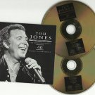 Tom Jones - Gold Collection (2xCD 2000) nr Mint Boxset / 24HR POST