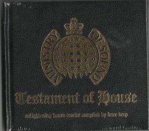Various - Testament Of House (2xCD 2007) NEW Ltd BOOK STYLE HARD DIGIPAK
