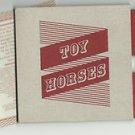 Toy Horses - Toy Horses -FULL PROMO-(CD 2011)SlipCase +Booklet / 24HR POST