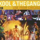Kool & the Gang - Live in Chicago 2 x CD NEW / 24HR POST