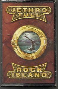 JETHRO TULL - Rock Island  Cassette Chrysalis ZCHR 1708 SEALED 1989
