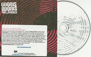 Odonis Odonis - Hollandaze -FULL PROMO-(CD 2011) SLIPCASE / 24HR POST