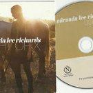 Miranda Lee Richards - Light of X -FULL PROMO- (CD 2009) Slip-Case / 24HR POST