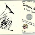 Simon & Eliza - Upside Down -6 TRACK SAMPLER PROMO- CD Simon Mills   Eliza Payne