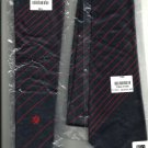 Mens Tie  JOBLOT x 6  Polyester   blue with Red Stripes  NEW / 24HR POST