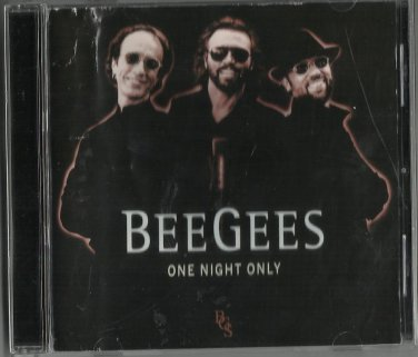 Bee Gees - One Night Only (Live Recording CD 1999) Polydor HDCD / 24HR POST