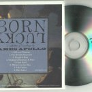 James Apollo - Born Lucky -RARE FULL PROMO- CD 2011 Slipcase / 24HR POST