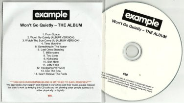 Example - Won't Go Quietly -FULL PROMO- CD 2010 / 24HR POST