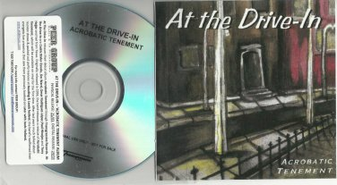 At The Drive-In : Acrobatic Tenement -OFFICIAL FULL PROMO- (CD 2006) 24HR POST