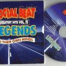 The Social Beat - Legends CD 2011 Rare Slipcase Edition / 24HR POST