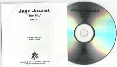 Jaga Jazzist - The Stix -FULL PROMO- (CD 2003) 24HR POST