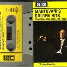 Mantovani's Golden Hits  CASSETTE 1967 DECCA  KSKC-4818 STEREO  / 24HR POST