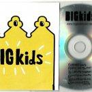 BIGKids - Never Grow Up  -OFFICIAL SAMPLER- CD 2012  6 Trks  Mr Hudson  Big Kids