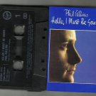 Phil Collins - Hello I Must Be Going  CASSETTE 1982 Virgin  /24HR POST