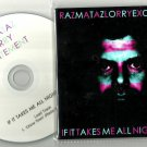 Razmataz Lorry Excitement ‎– If It Takes Me All Night Long CD -OFFICIAL PROMO-