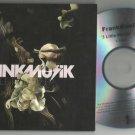 Franknusik - 3 Little Words -OFFICIAL NUMBERED PROMO- CD 2008  / 24HR POST