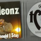The Cameleonz - Should I Stay -OFFICIAL PROMO- CD 2009 / 24HR POST
