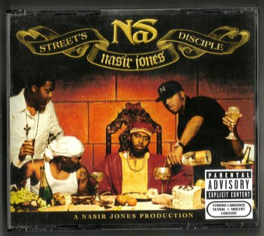 Nas - Street's Disciple ( 2xCDs  PA 2004) Fatbox  Poster  Booklet  24HR POST