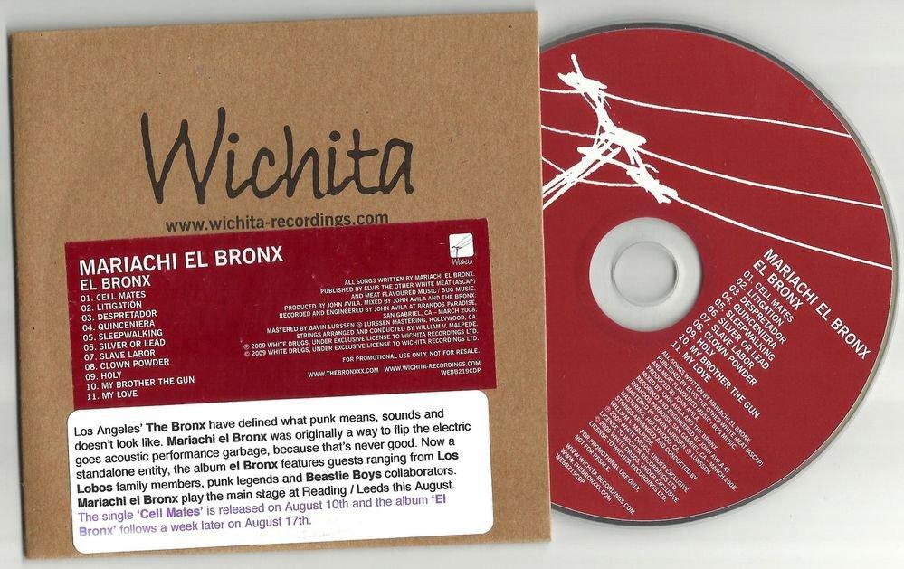 Mariachi El Bronx - El Bronx -OFFICIAL FULL PROMO- (CD 2009) Los Lobos  24HRPOST