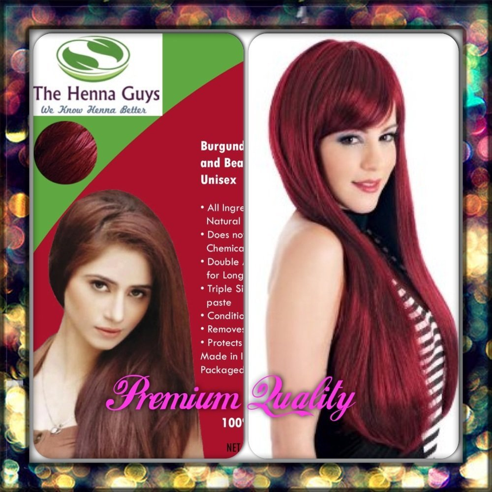 Burgundy Henna Hair Dye Color Organic Amp 100 Chemical Free