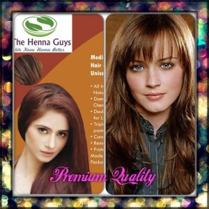 Medium Brown Henna Hair Dye Color Organic 100 Chemical Free 100grams