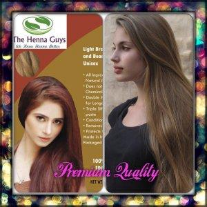 Light Brown Henna Hair Dye Color Organic 100 Chemical Free 100grams