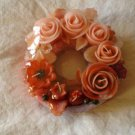 Handmade Decorative Scented Floral Wreath Candle P20B