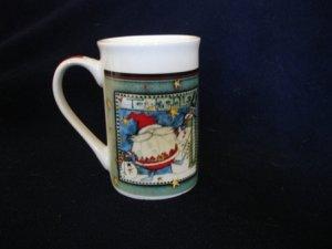 Royal Norfolk  Santa To Be Jolly Tall Mug Cup