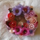 Handmade Decorative Scented Floral Wreath Candle P11