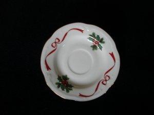Wtoctawek Poland Christmas Saucer