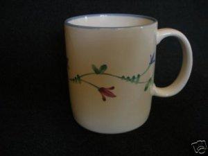 "Savoir Vivre JF036 Portofino Blue Coffee Mug 3 5/8"""
