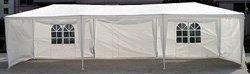 10' x 30' White Party Tent w/Windows & Sidewalls**PRICE DROP UNTIL