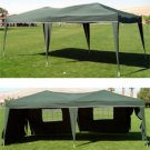 10 x 20 EZ Pop Up Canopy w/6 sidewalls**WHITE, GREEN OR BLUE