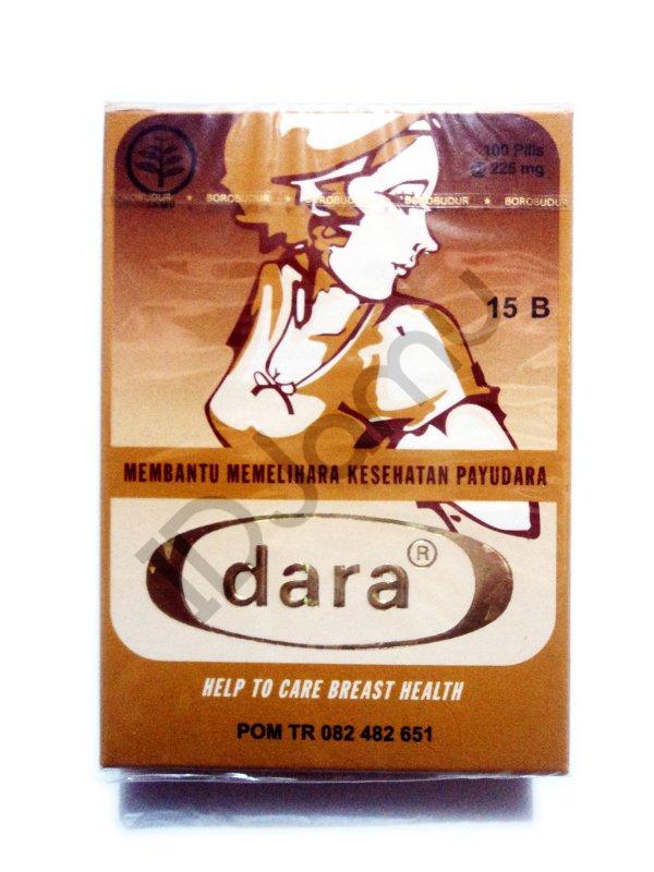Natural Jamu/Herbs Dara Pills Helps To Care Breast Health