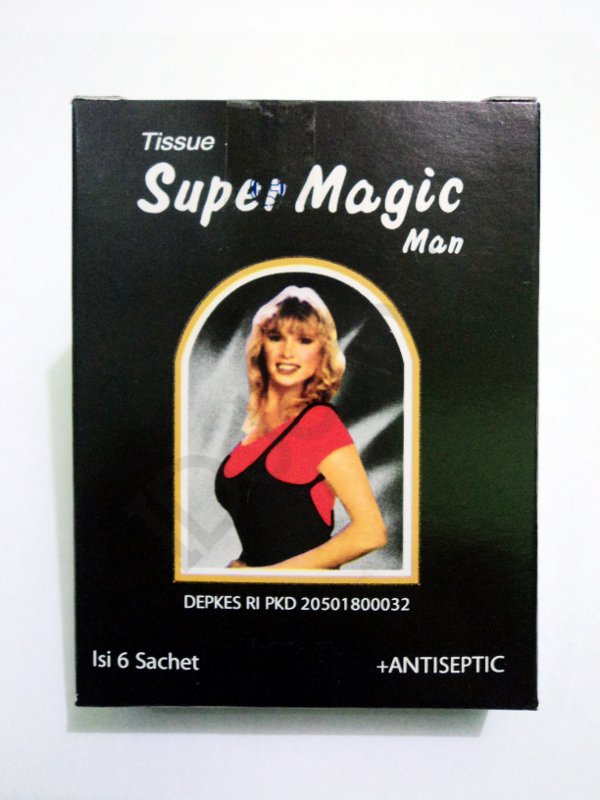 Super Magic Man Tissue To Control Premature Ejaculation