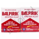2 Pcs of Balpirik Balsem Balsam Balm Extra Strong 20 Gram Muscular Pain
