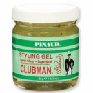 Clubman Styling Gel Super Clear, Super Hold, 16 oz
