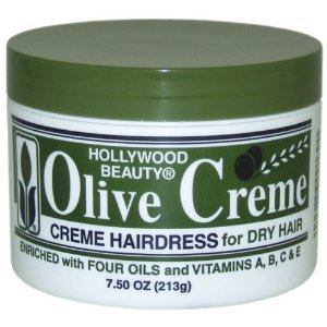 Hollywood Beauty Olive Cream Hairdress