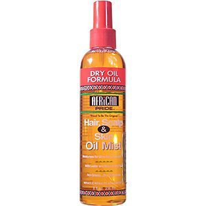 African Pride Hair, Scalp & Skin Oil Mist: 8 OZ