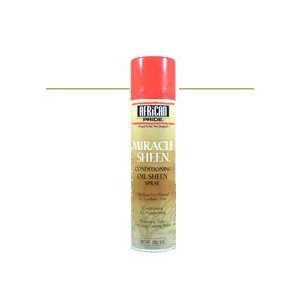 African Pride Miracle Sheen Conditioning Oil Sheen Spray 9 oz