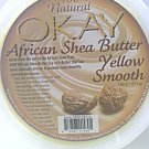 OKAY 100% Natural African Shea Butter Yellow Smooth 16 Oz.