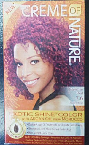Creme of Nature Intensive Red 7.6 Exotic Shine Color