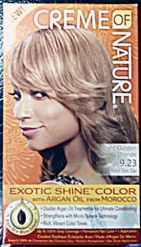 Creme of Nature Light Golden Blonde 9.23 Exotic Shine Color