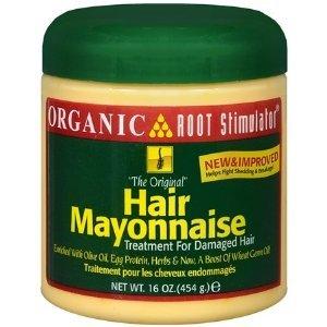 Organic Root Stimulator Hair Mayonnaise Treatment for Damaged Hair w/ Hair Fertilizer 16oz
