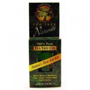 Fantasia 100% Pure Tea Tree Oil Nature's First Aid Kit 1 Oz