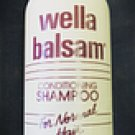 Wella Balsam Conditioning Shampoo For Normal Hair 2 Oz.